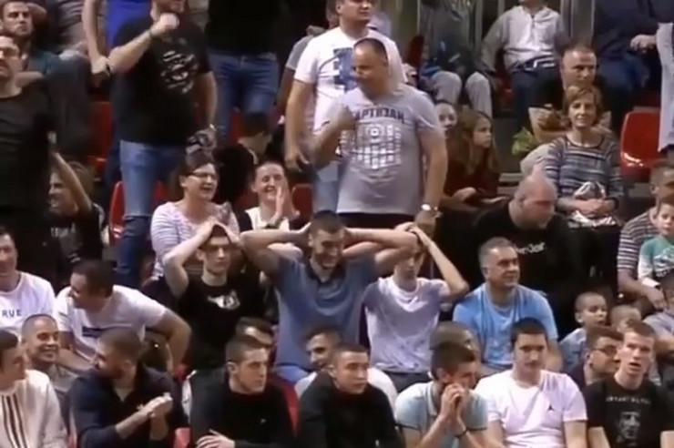 Navijač Partizana