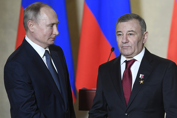 Vladimir Putin i Arkadij Rotenberg