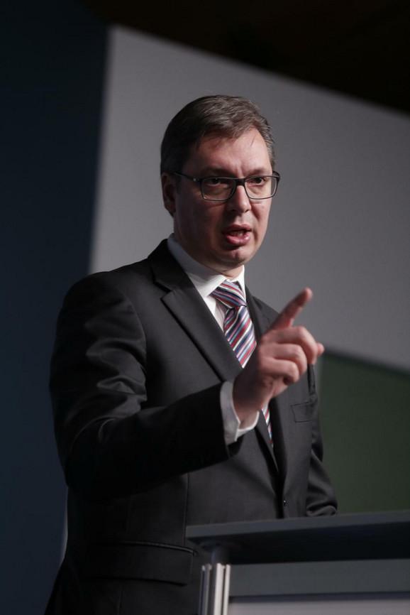 Aleksandar Vučić: Hvala EU na reakciji
