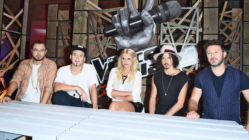 "Jury ""The Voice of Poland"" 8"