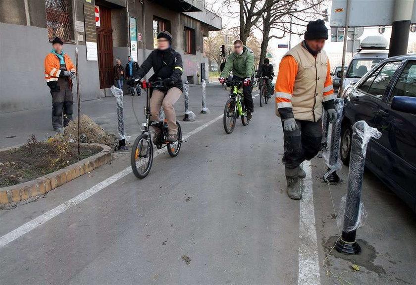 Zmieniają miasto dla rowerzystów