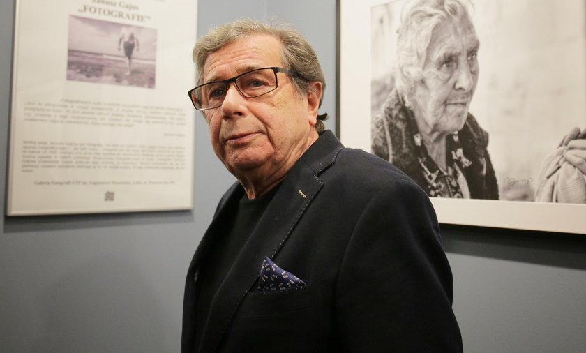 Janusz Gajos otworzył w Łodzi wystawę swoich fotografii