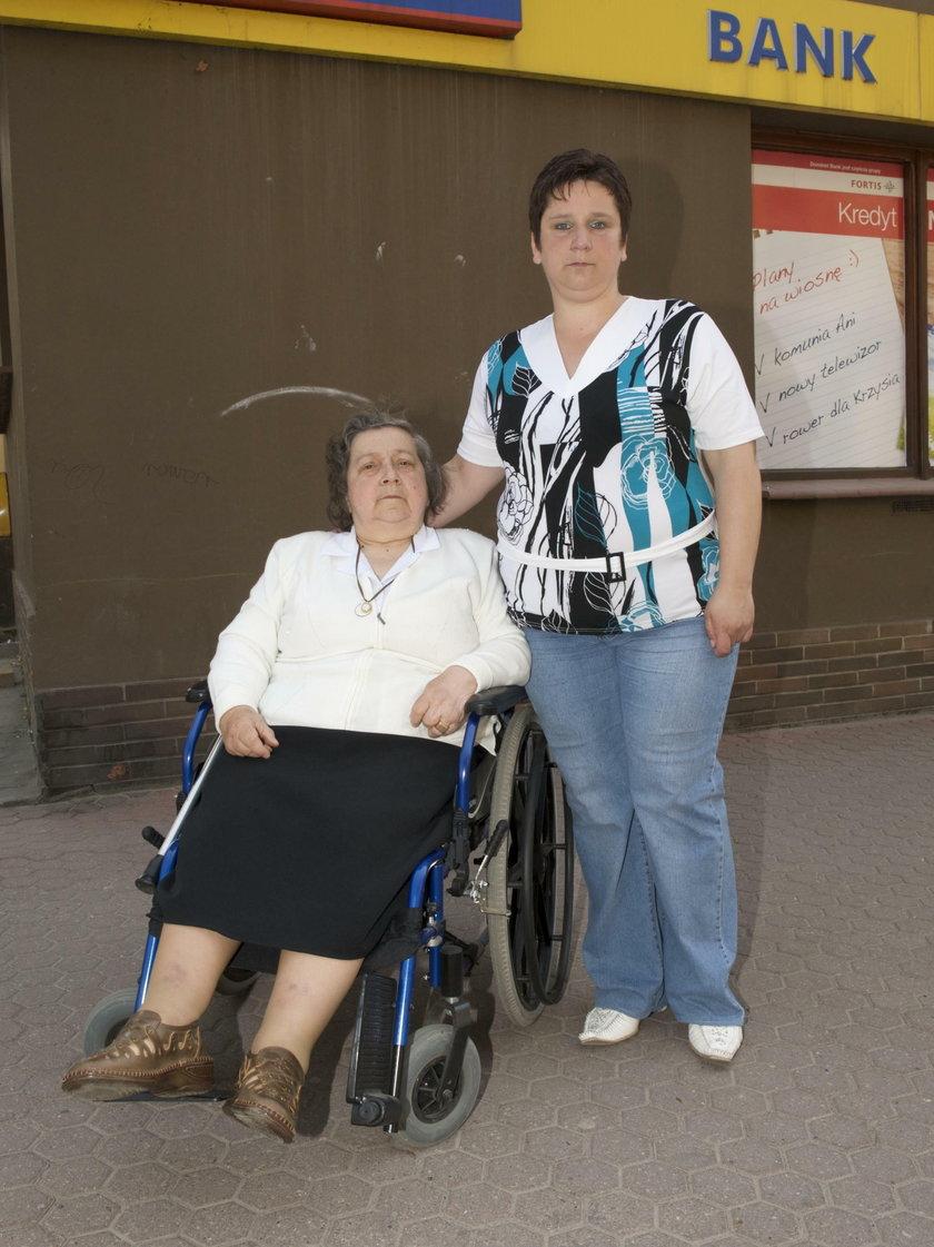 Mama i babcia Moniki Bielawskiej