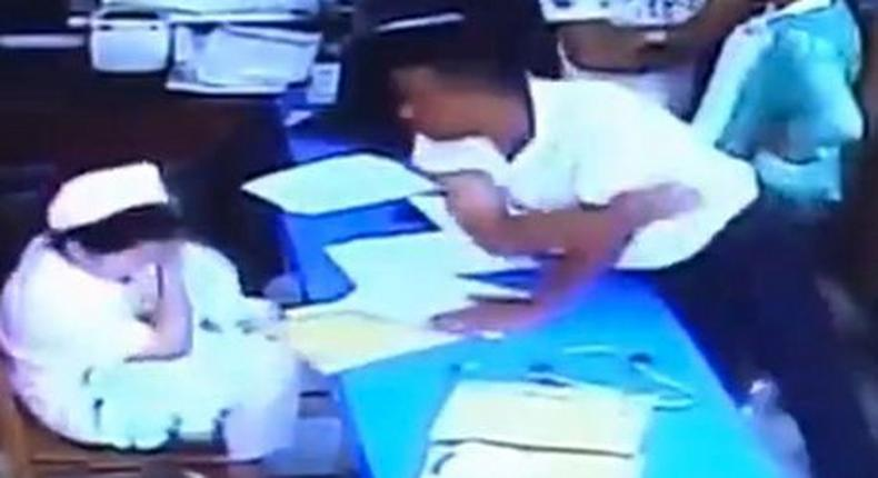 Nurse weeps as grieving family assaults her, forces nurses to hold dead baby