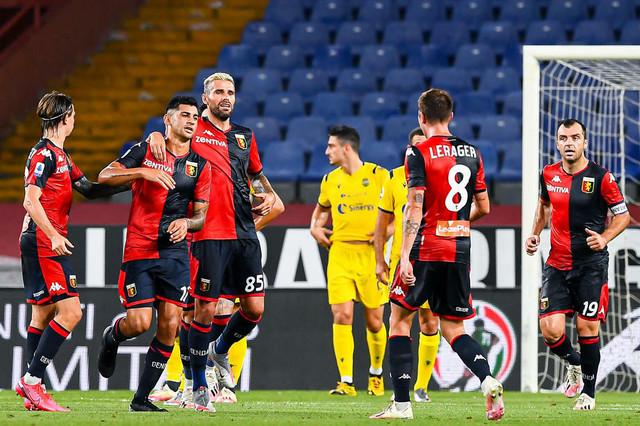 Fudbaleri Đenove slave gol
