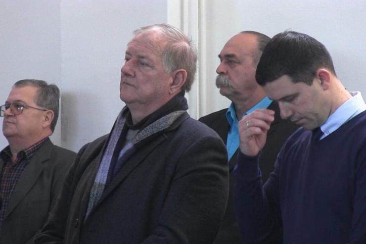 Muvret Bajraktarević na prijemu