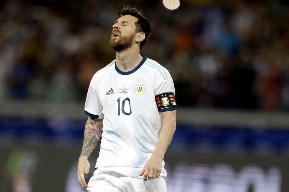 Lionel Messi – reprezentacja Argentyny