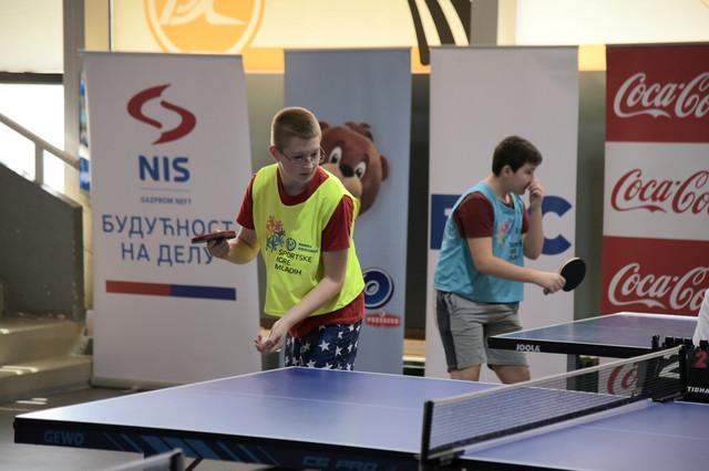 Stoni tenis - Sportskih igara mladih Srbije u Sremskoj Mitrovici