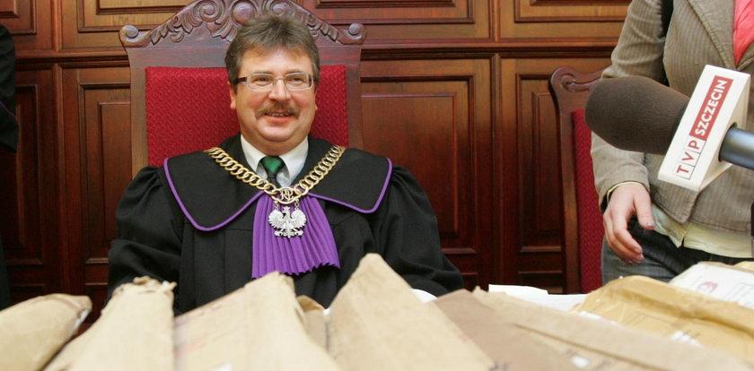 Sędzia wypuszcza aferzystę z aresztu
