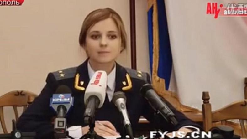Natalia Pokłońska, prokurator z Krymu, złożyła przysięgę na wierność rosyjskiej konstytucji