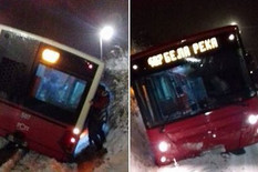 407 autobus sneg