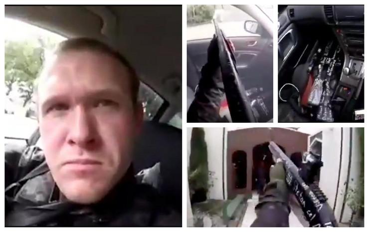 LICE ZLA Ovo je terorista sa Novog Zelanda, evo kako je uživo na Fejsbuku prenosio pokolj u džamiji