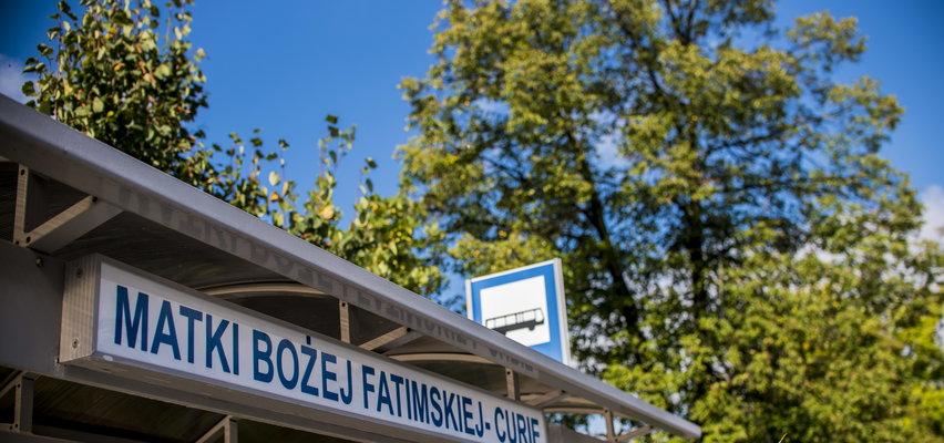 """Nietypowa nazwa przystanku w Tarnowie. Pasażerowie wysiadają na """"Matki Bożej Fatimskiej – Curie"""""""