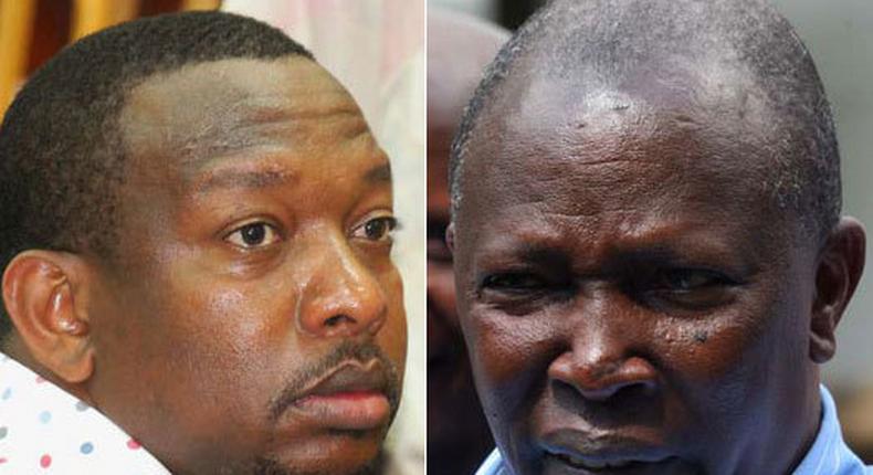 Governor Sonko and Nominated MP Maina Kamanda