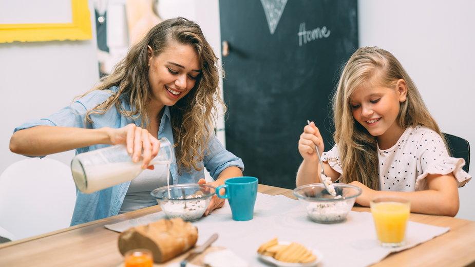 Posiłki śniadaniowe w Ameryce mogą się nieco różnić w zależności od części kraju