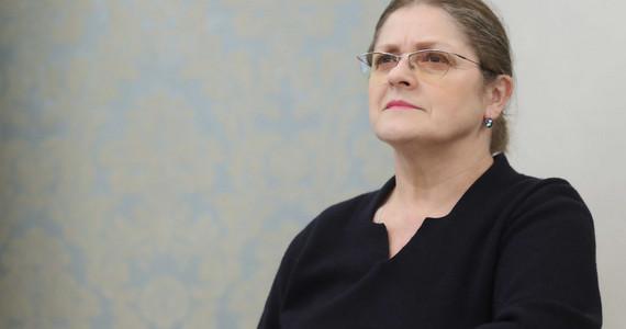 Krystyna Pawłowicz w hotelu. Sędzia wydaje oświadczenie i grozi ...
