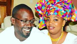 Aïda Mbacké tout sourire avec son époux Khadim Ndiaye