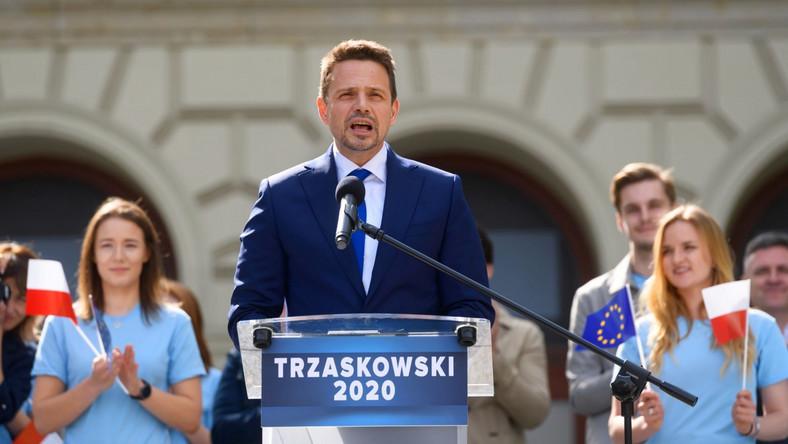 Rafał Trzaskowski w Poznaniu