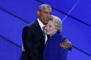 USA: Obama popiera Clinton jako swą następczynię i kontynuatorkę 'odwagi nadziei'