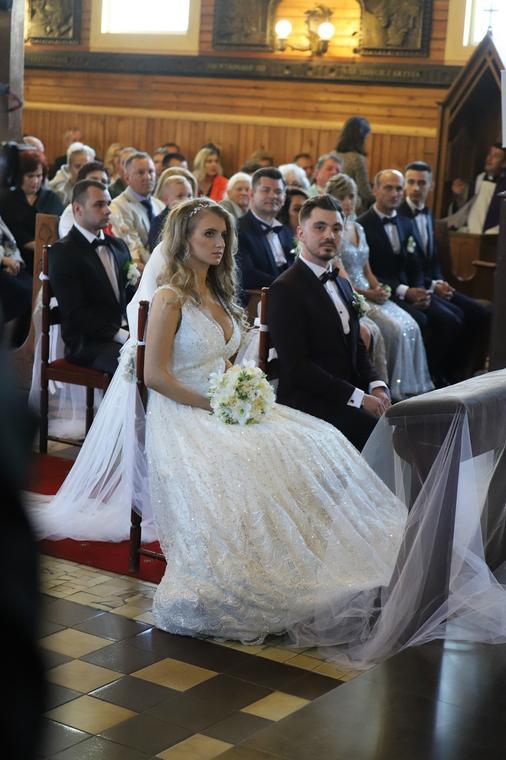 Syn Zenona Martyniuka Już Po ślubie Panna Młoda Zachwyciła Suknią I