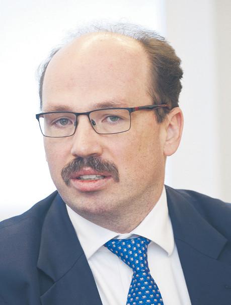 Łukasz Bystrzyński szef zespołu doradztwa ds. usług finansowych i partner w PwC
