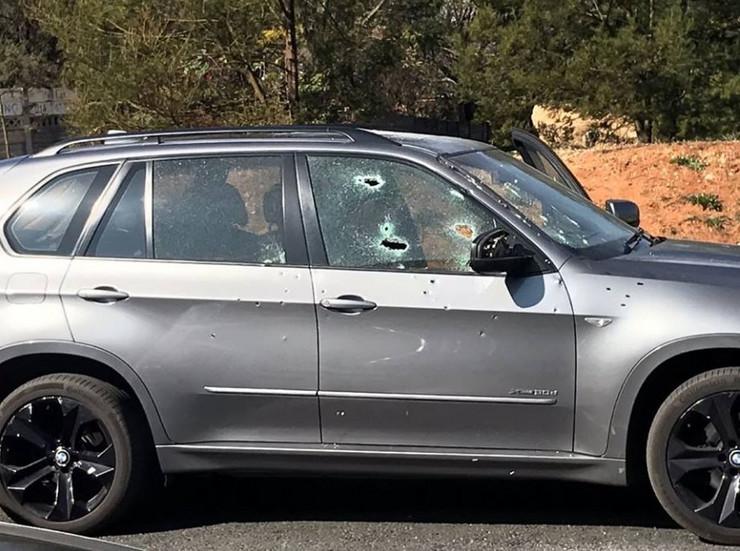 Automobil u kom je ubijen Srbin