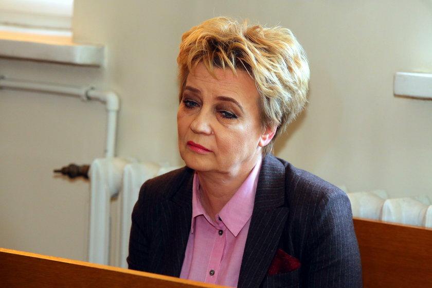 Hanna Zdanowska skazana
