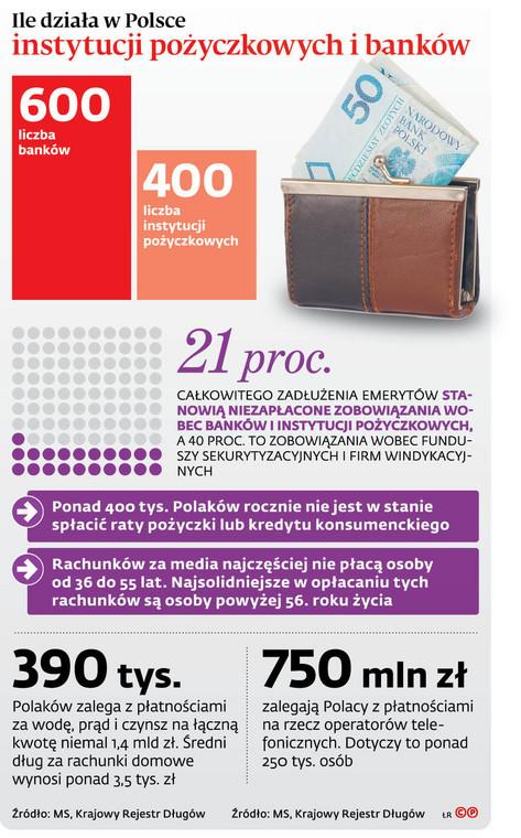 Ile działa w Polsce instytucji pożyczkowych i banków