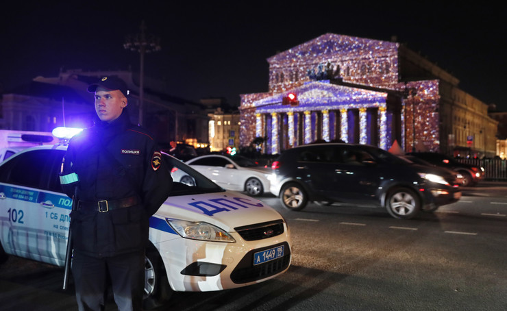 Moskva, evakuacija, EPA - YURI KOCHETKOV