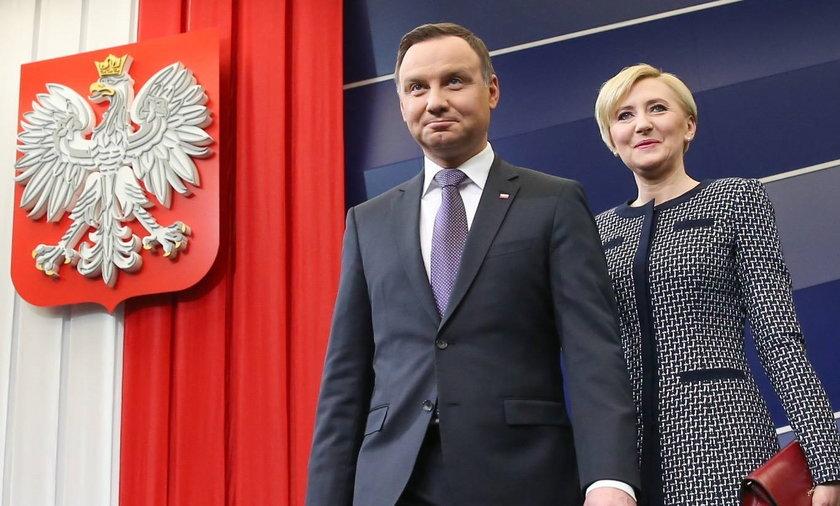 Para prezydencka z wizytą u przystojnego... wroga ideologicznego