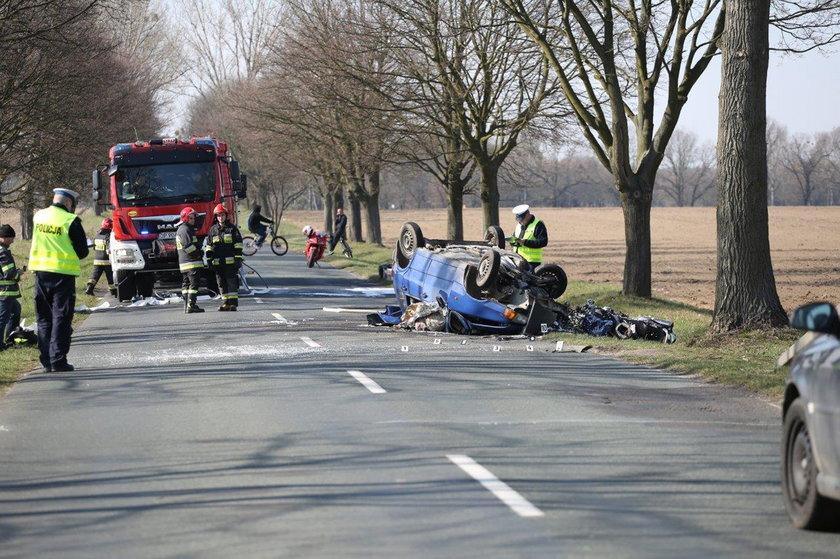 wypadek w Namysłowie