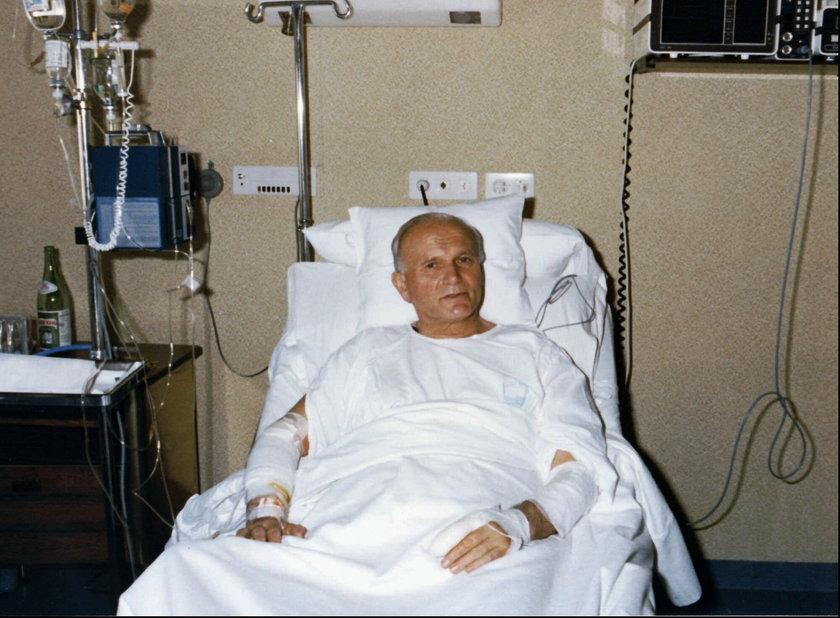 Jan Paweł II w Gemelli