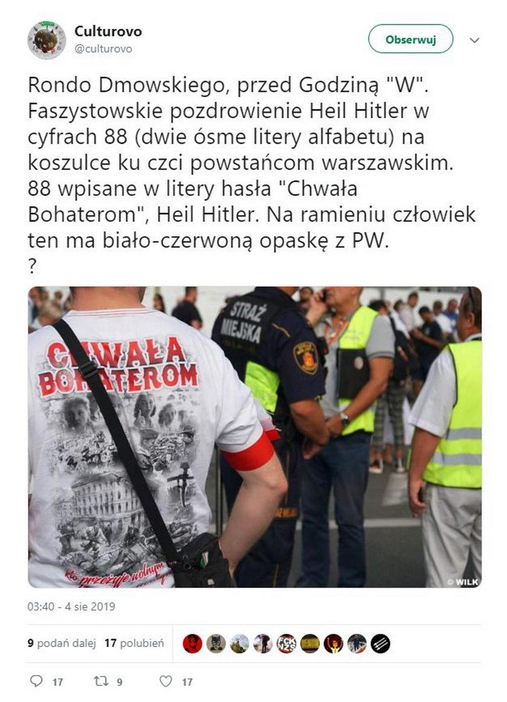 Skandal na obchodach Powstania Warszawskiego