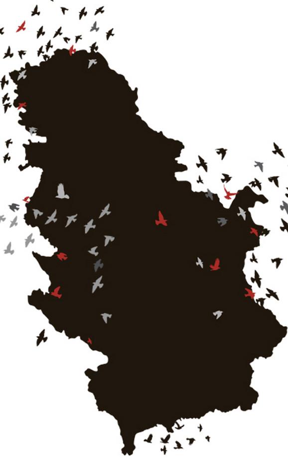 Veliki broj mladih okuša se u životu van Srbije
