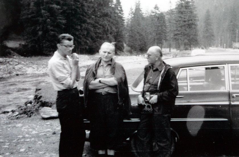 Kard. Franciszek Macharski i Karol Wojtyła