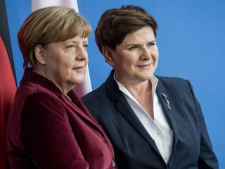 Polish PM Szydlo in Berlin