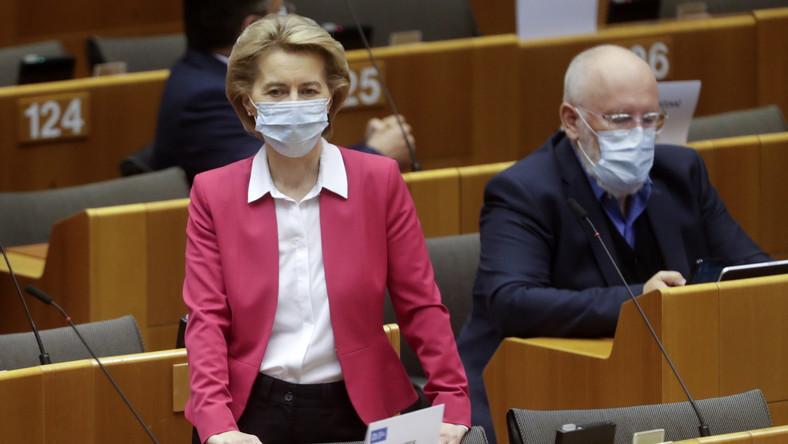 Ursula von der Leyen i Frans Timmermans