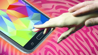 Fingerabdruckscanner des Samsung Galaxy S5 gehackt