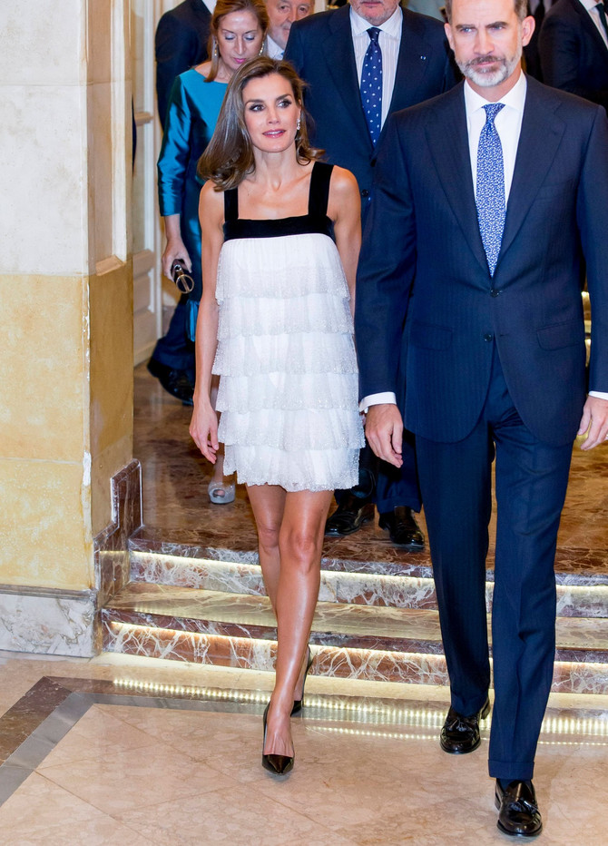 Kraljica Leticija 2017. u kontroverznoj beloj haljini