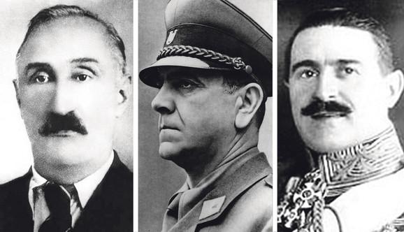 Mustafa Golubic, Ante Pavelić, Petar Živković