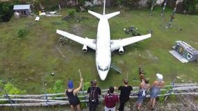 Opuszczony samolot na Bali