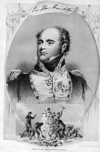 Sir John Franklin i jego grób