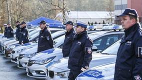 Świętokrzyska policja otrzymała 35 nowych radiowozów