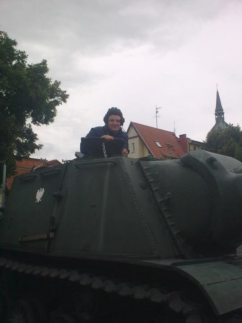 Zdjęcie śp. Jakuba Struzika z Facebooka, syna marszałka Mazowsza