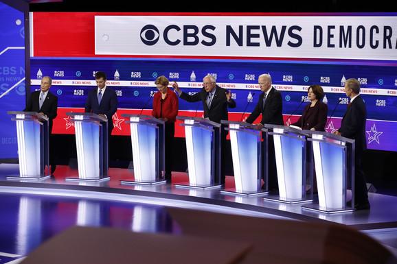 Učesnici debate u Južnoj Karolini