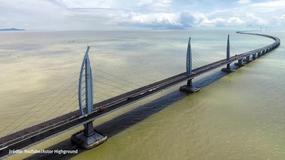 Najdłuższy most na świecie połączy trzy miasta
