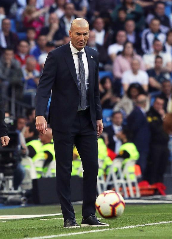 Trenera Reala Zinedina Zidana na leto očekuje veliki posao