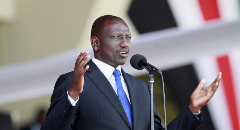 File image of Deputy President William Ruto