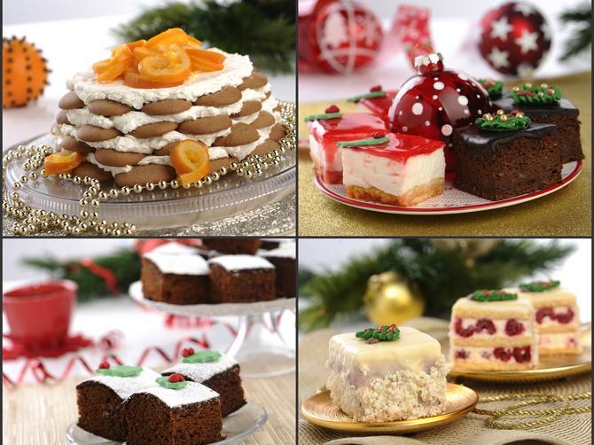Kremasti, voćni, čokoladni... Praznični kolači da vam pamet stane!