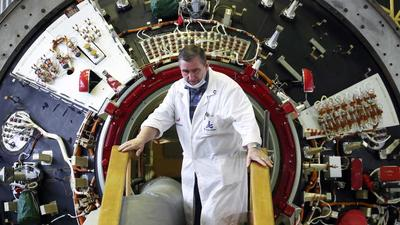 Russia is set to dock a long-awaited new module to the space station on Thursday